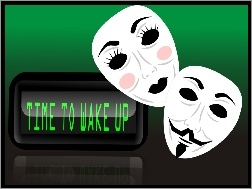 Time To Wake Up, Anonymous, Revolution